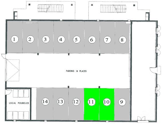 place-parking à riorges 16 rue olympe de gouges