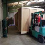 projet garde meuble dans un entrepôt