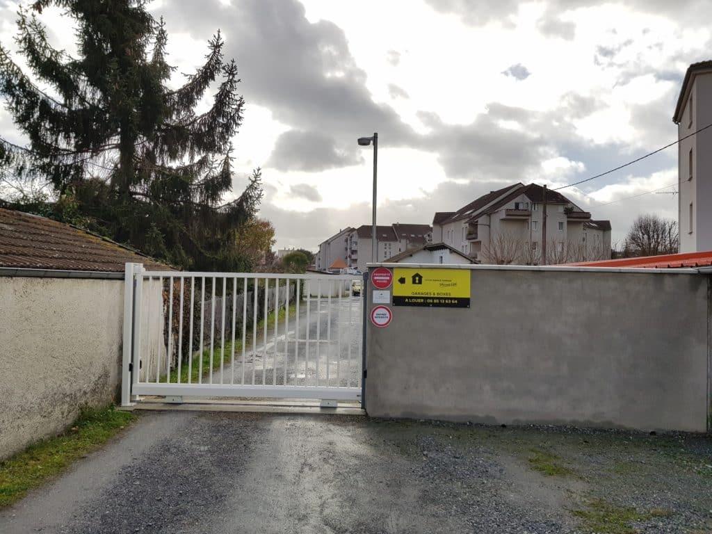 acces securise lot de garages