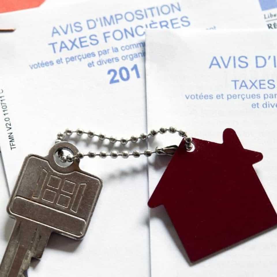 Avis d'imposition taxe foncière