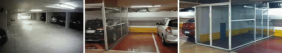 fermer boxer parking solution grillage