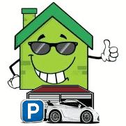 Logo parking à la maison