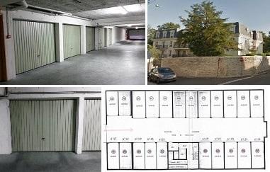 Lot de 10 garages à Pontoise