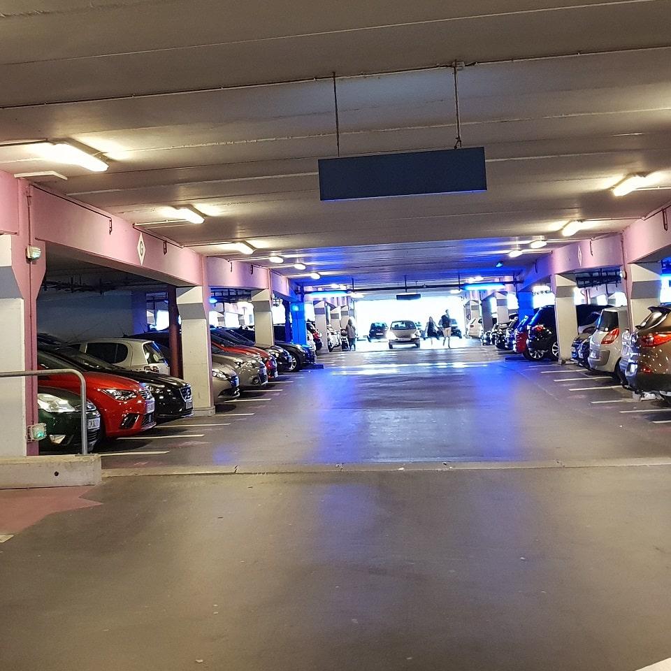 parking en concession amodiation