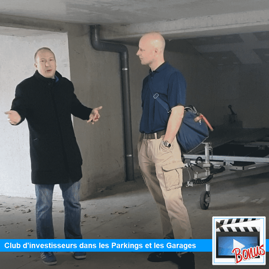 Rencontre club, formation pour investir parking, garage